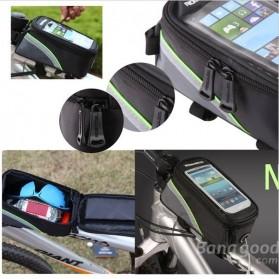 Roswheel Tas Sepeda Waterproof untuk 4.8 inch Smartphone - 12496 - Black - 11