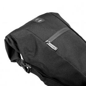 SAHOO Tas Sadel Sepeda Bicycle Waterproof Bag 10L - 131414-B - Black - 5
