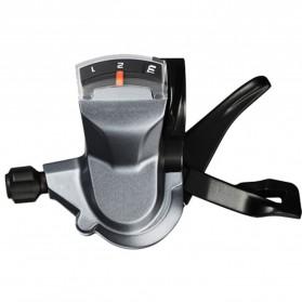 Shimona ALIVIO 9 Speed Trigger Shifter Sepeda Gunung 2 PCS - M4000 - Black - 2