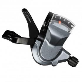 Shimona ALIVIO 9 Speed Trigger Shifter Sepeda Gunung 2 PCS - M4000 - Black - 3