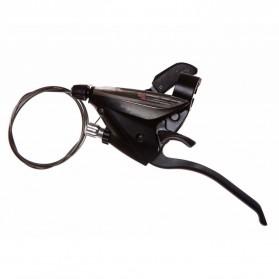 Shimona 9 Speed Shifter Handle Brake Rem Sepeda 2 PCS - ST-EF65 - Black - 4