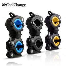 CoolChange Clamp Penjepit Senter Stang Sepeda - 02011 - Black - 6