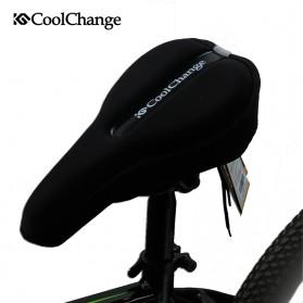 CoolChange Cover Jok Sepeda Sponge Round Rope Fasten - 10008 - Black - 5