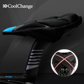 CoolChange Jok Sadel Sepeda Profesional - 10020 - Black - 4