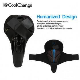 CoolChange Jok Sadel Sepeda Profesional - 10020 - Black - 6