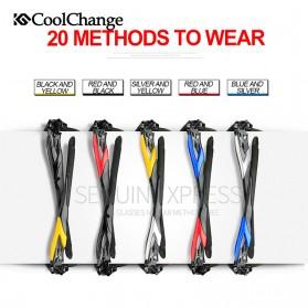 CoolChange Kacamata Sepeda dengan 5 Lensa Myopia - 0093 - Gray - 4