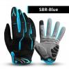 Sarung Tangan Motor - CoolChange Sarung Tangan Sepeda SBR Pad Size L - 91040 - Blue