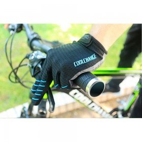 CoolChange Sarung Tangan Sepeda Shockproof - Size XL - Black - 7