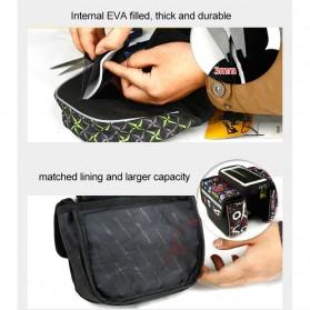 CoolChange Tas Sepeda Double Saddle Bag Smartphone 5 Inch - 12009 - Black - 5