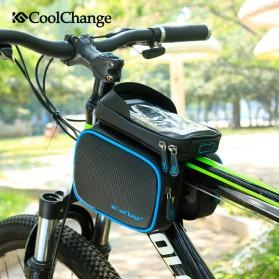 CoolChange Tas Sepeda Waterproof Smartphone 6 Inch - 12019N - Black - 4