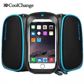 CoolChange Tas Sepeda Waterproof Smartphone 6 Inch - 12019N - Black - 5