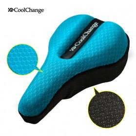 CoolChange Cover Jok Sepeda Sponge Criss Cross Fasten - 10022 - Black - 2