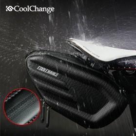 CoolChange Tas Jok Sepeda Reflective Seat Tail Bag Waterproof - 12025 - Black - 2