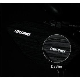 CoolChange Tas Jok Sepeda Reflective Seat Tail Bag Waterproof - 12025 - Black - 7