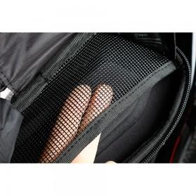 CoolChange Tas Jok Sepeda Reflective Seat Tail Bag Waterproof - 12025 - Black - 8