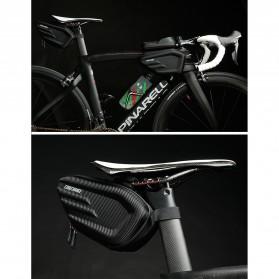 CoolChange Tas Jok Sepeda Reflective Seat Tail Bag Waterproof - 12025 - Black - 10