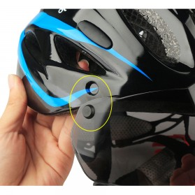 CoolChange Helm Sepeda EPS Windproof Lens - 19020 - Black - 6