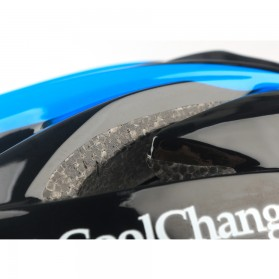 CoolChange Helm Sepeda EPS Windproof Lens - 19020 - Black - 7