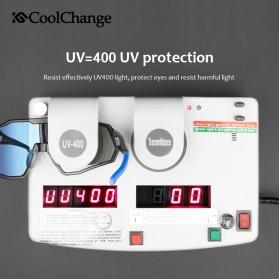 CoolChange Kacamata Sepeda Sport Cycling Glasses UV400 - 0098E - Black/Blue - 3