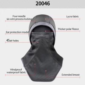 CoolChange Masker Full Face Balaclava Thermal Warm & Windproof Cycling Mask - 20046 - Black - 3