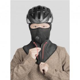 CoolChange Masker Full Face Balaclava Thermal Warm & Windproof Cycling Mask - 20045 - Black - 5