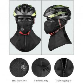 CoolChange Masker Full Face Balaclava Thermal Warm & Windproof Cycling Mask - 20045 - Black - 6