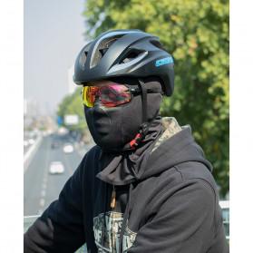 CoolChange Masker Half Face Balaclava Thermal Warm & Windproof Cycling Mask - 20055 - Black - 10