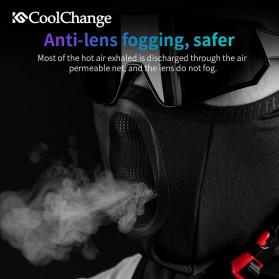 CoolChange Masker Half Face Balaclava Thermal Warm & Windproof Cycling Mask - 20055 - Black - 5