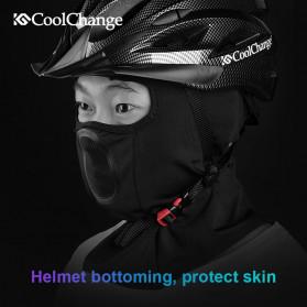 CoolChange Masker Half Face Balaclava Thermal Warm & Windproof Cycling Mask - 20055 - Black - 7