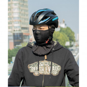 CoolChange Masker Half Face Balaclava Thermal Warm & Windproof Cycling Mask - 20055 - Black - 9