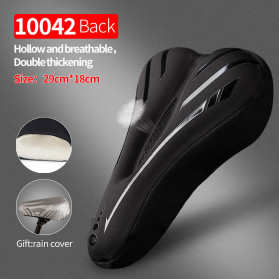 CoolChange Cover Jok Sepeda Memory Sponge Cushion - 1042 - Black