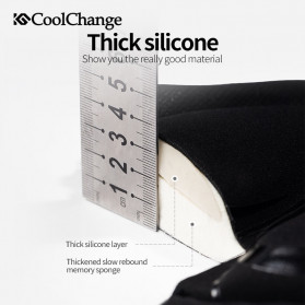 CoolChange Cover Jok Sepeda Memory Sponge Cushion - 1043 - Black - 3