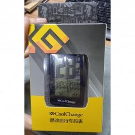 CoolChange Computer Speedometer Sepeda Wireless Odometer LED Monitor - 5702701 - Black - 8