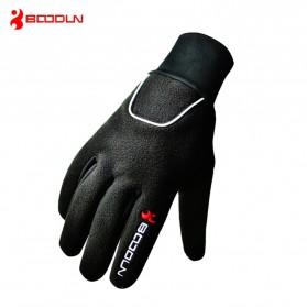 BOODUN Sarung Tangan Sepeda Motor - Size XL - Black - 2