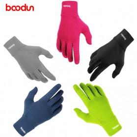 BOODUN Sarung Tangan Touchscreen - Size L/XL - Black - 5