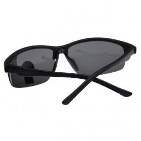 OULAIOU Kacamata Sepeda Anti UV - 3109 - Black - 3