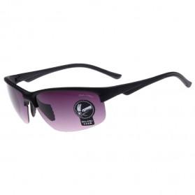 Trend Fashion Pria Terbaru - OULAIOU Kacamata Sepeda Anti UV - 3109 - Black/Gray