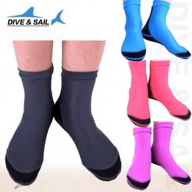 Dive&Sail Kaos Kaki Selam Scuba Diving Socks Size M - Black - 4