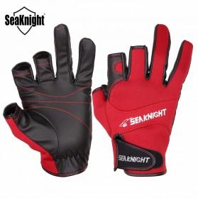 SeaKnight Sarung Tangan Mancing Anti Slip Size L - SK03 - Black - 3