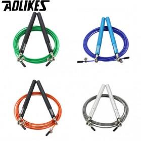 AOLIKES Tali Skipping Jump Rope Steel Wire Bearing - 3202 - Black - 7