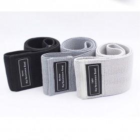 Aolikes Elastic Rubber Hip Resistance Fitness Bands 3PCS - A-3604 - Multi-Color - 7