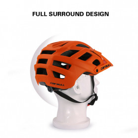 CAIRBULL Helm Sepeda MTB Trail XC EPS Foam - Orange - 5
