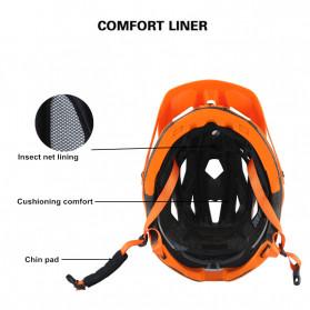 CAIRBULL Helm Sepeda MTB Trail XC EPS Foam - Orange - 7