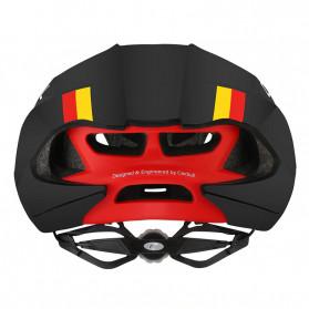 CAIRBULL Helm Sepeda MTB Trail Aerodynamics EPS Foam - CAIRBULL-06 - Black/Red - 3