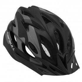 CAIRBULL Helm Sepeda Powermeter MTB Breathable Cycling Helmet - CB-27 FUNGO - Black - 3