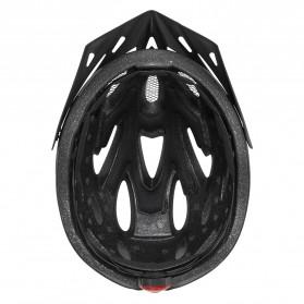 CAIRBULL Helm Sepeda Powermeter MTB Breathable Cycling Helmet - CB-27 FUNGO - Black - 6