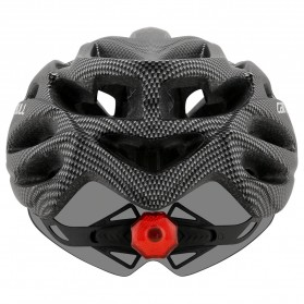 CAIRBULL Helm Sepeda Powermeter MTB Breathable Cycling Helmet Visor Removable Lens - CB26 - Black White - 4