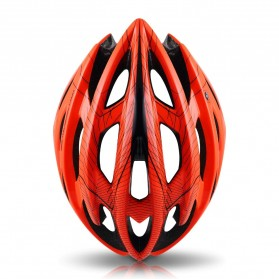 CAIRBULL Helm Sepeda Ultralight Air Vents Cycling Bike Cap Size L - CB-01 - Orange - 3