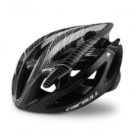 CAIRBULL Helm Sepeda Ultralight Air Vents Cycling Bike Cap Size L - CB-01 - Black