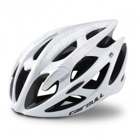 CAIRBULL Helm Sepeda Ultralight Air Vents Cycling Bike Cap Size L - CB-01 - White - 1